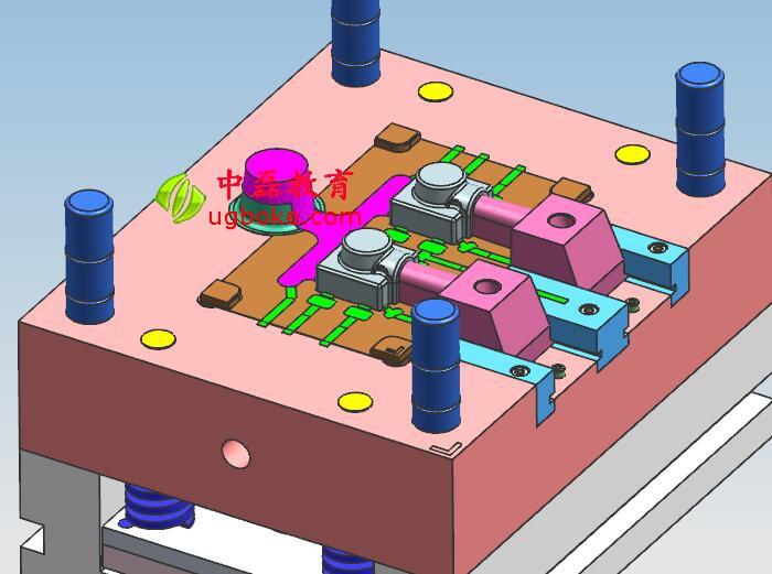 压铸模具图纸下载滑块抽芯机构中磊教育 图纸编号W-18  压铸模具的结构与塑料模具有很大的区别,其结构要比塑料简单一些,常用的压铸模具产品可分为铝、锌等等;  压铸模具没有上下模具固定板,其都是采用码模槽的方式进行装夹;  压铸模具的进料系统,与塑料模具完全是不一样的;  流道、渣包是压铸模具的难点,进胶不好,很容易造成产品不良;